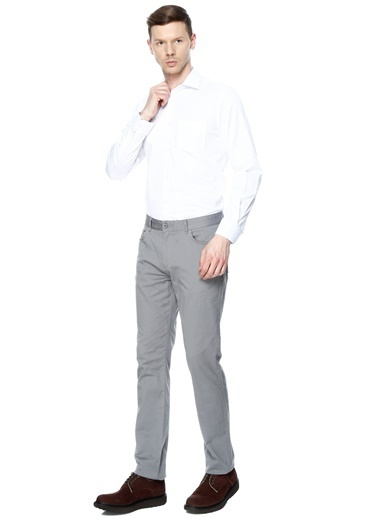 Cotton Bar Gömlek Beyaz